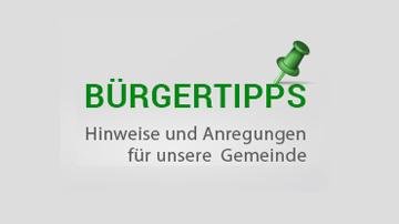Bürgertipps - Hinweise und Anregungen für unsere Gemeinde©Gemeinde Ahrensfelde